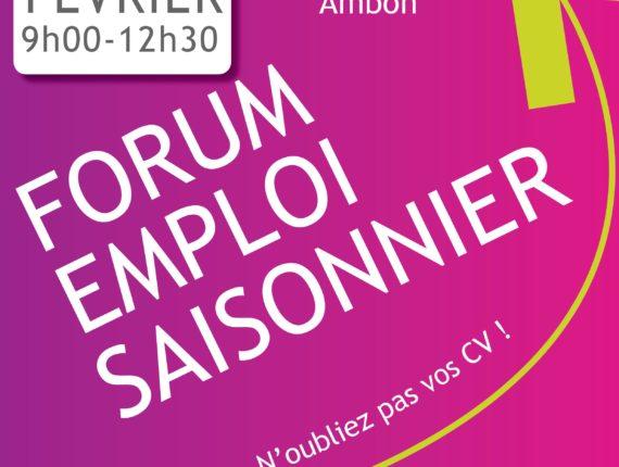 Forum emploi saisonnier - Ambon @ mission locale