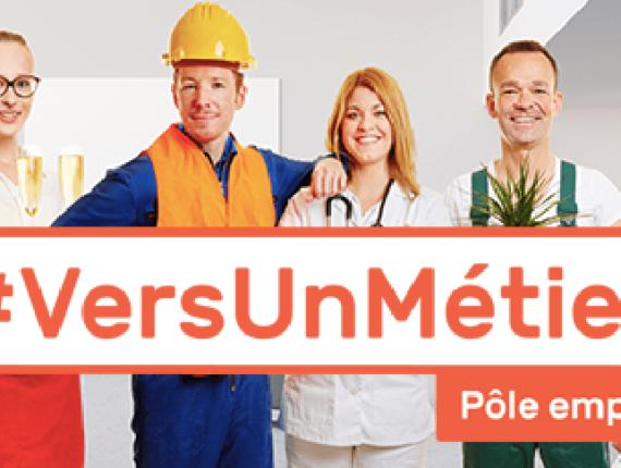 #VerUnMétier : Promotion d'offres de formation @ Pole emploi