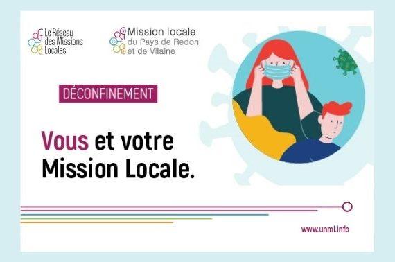 Réouverture partielle Mission locale 18 mai