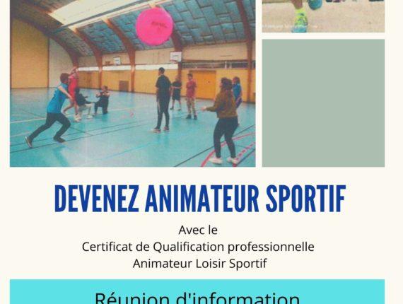Information collective PARCOURS SESAME - Formation aux métiers du sport